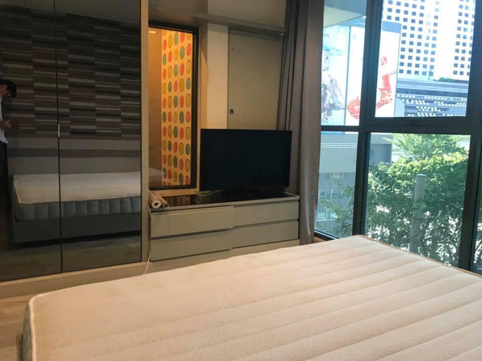 เช่าคอนโดพระราม 9 เพชรบุรีตัดใหม่ : 1 Bed Condo for Rent at Ideo Mobi Rama 9 [Ref: P#202001-11186]
